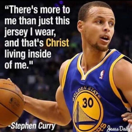 Stephen Curry An Example Of A Man