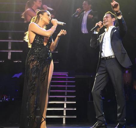 Marc Anthony y Jlo Juntos! [VIDEO]