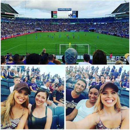 Orlando City Soccer Game! Ahhh #FunTimes