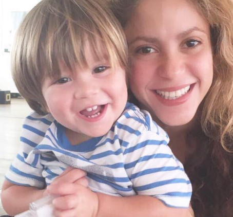 Shakira's Son is FINALLY Ok