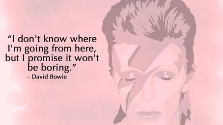 David Bowie....Goodbye Musical Legend