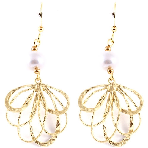 EARRINGS E 24559 GLD CRM