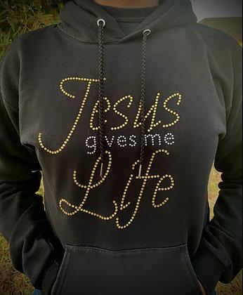 Jesus Gives Me Life (Hoodie)