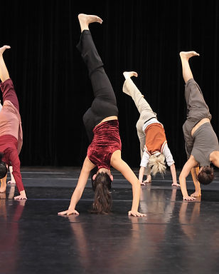 Hand Stand During Dance Performance