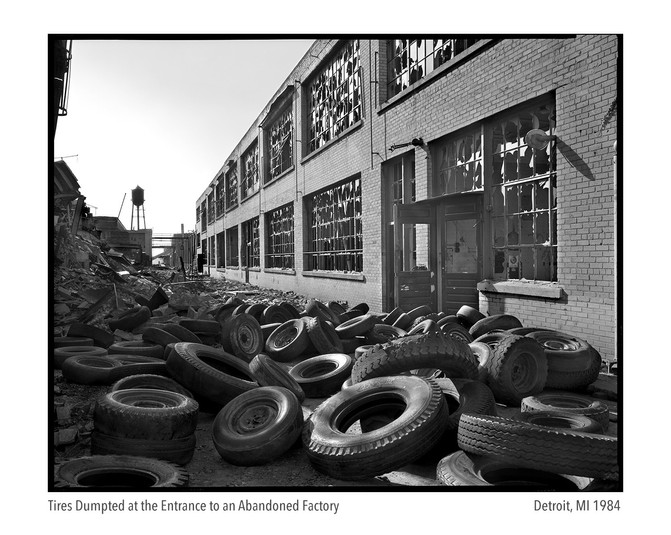 Factory Complex and Tires 1984