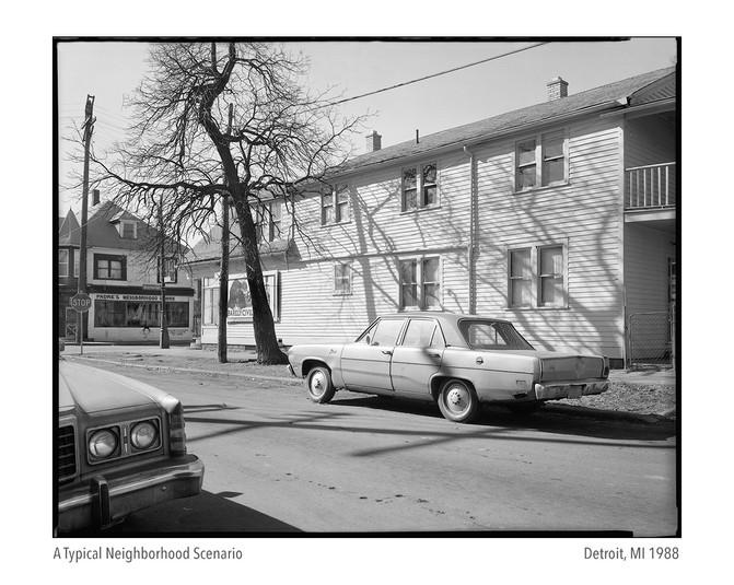 Typical Urban Neighborhood Scenario 1988