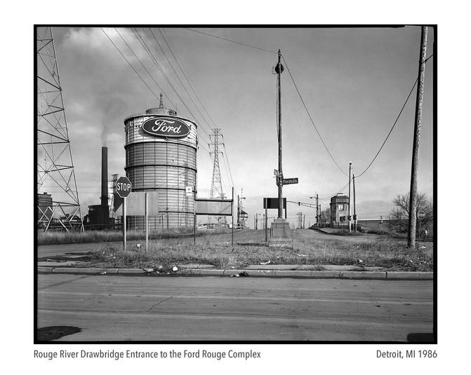Ford Rouge Complex Bridge 1986