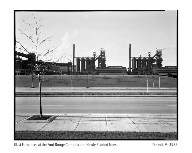 Blast Furnaces at the Ford Rouge Complex