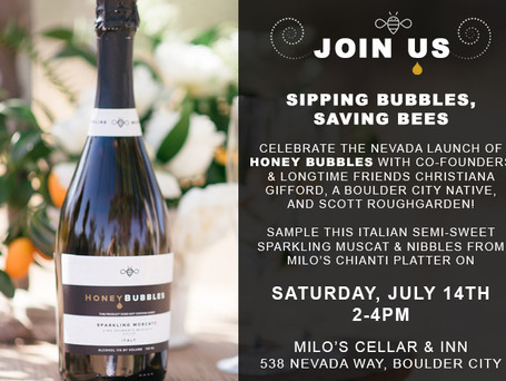 Join Us for the Launch of Honey Bubbles in Nevada!