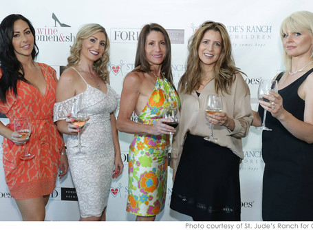 Wine, Women and Shoes for SJR