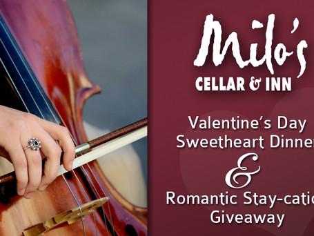 Valentine's Day at Milo's Cellar