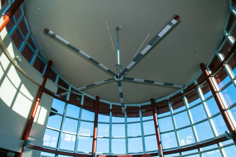 Ceiling of Boulder City Airport