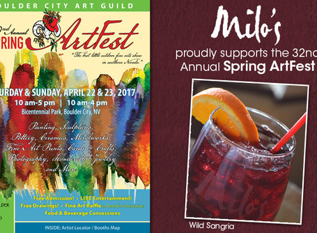 Proud to Support Spring ArtFest