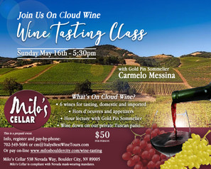 Wine Tasting Class - May 16, 2021