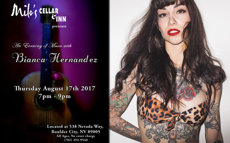 An Evening of Music with Bianca Hernandez