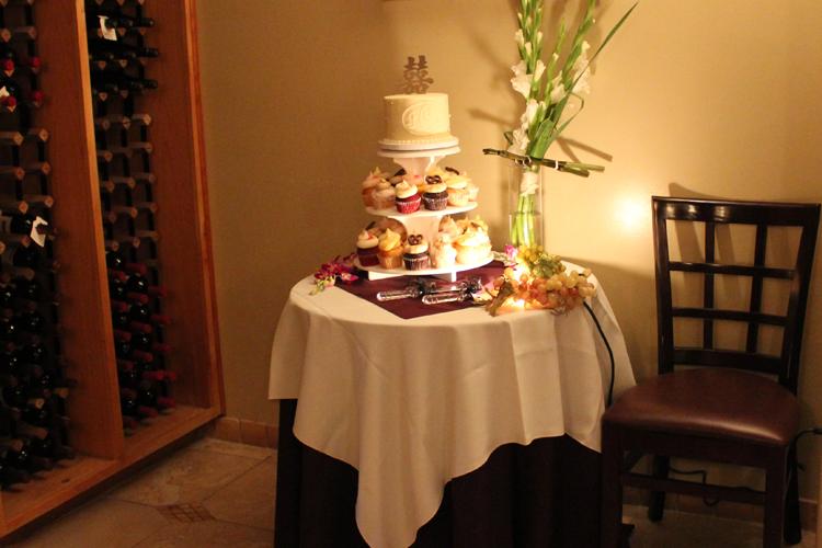 Wedding Table in Milo's Cellar