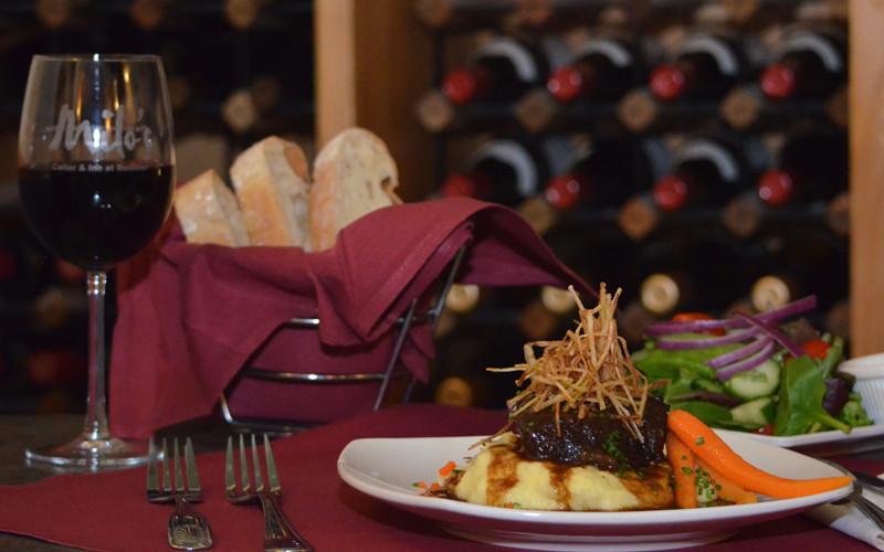 Dinner Specials Menu at Milo's Cellar & Inn in Boulder City, NV
