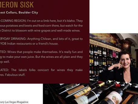 Master Sommelier Cameron Sisk Featured in Luxury Las Vegas