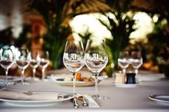 Intimate Wedding Table Decor