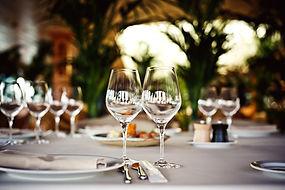 Table mariage vegan