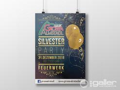 Plakat Silvester