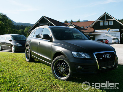 Fahrzeugfolierung Audi Q5