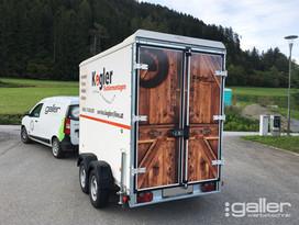 Fahrzeugfolierung Anhänger Kogler