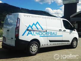 Fahrzeugfolierung Almdorfbau