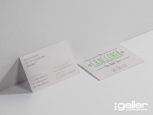 Der Graggober Visitenkarten