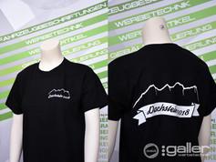 Textildruck T-Shirts Polterabend Dachste