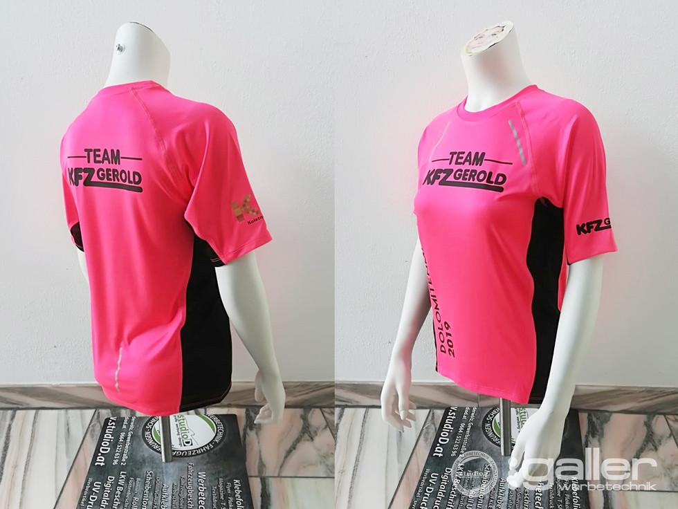 Textildruck T-Shirts KFZ Gerold Dolomitenmann