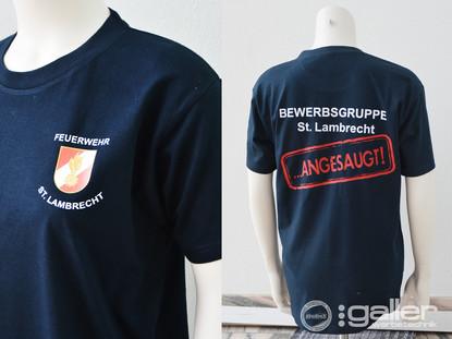 Textildruck T-Shirt FF Lambrecht