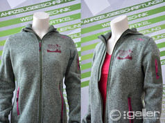 Textildruck Jacke Hochseilgarten