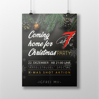 Poster Christmas Party