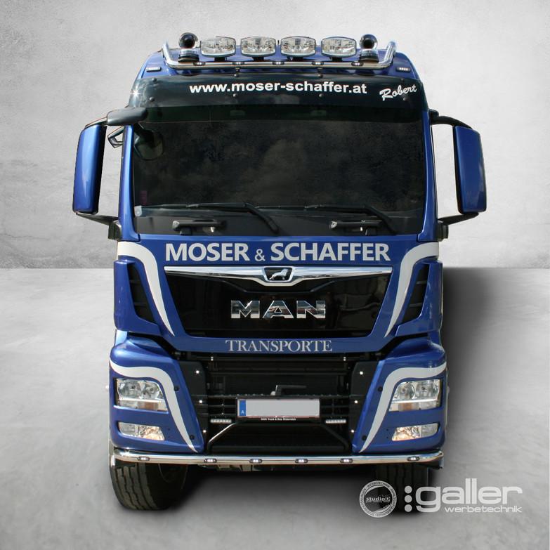 Fahrzeugfolierung Moser&Schaffer