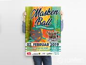 Plakat Maskenball