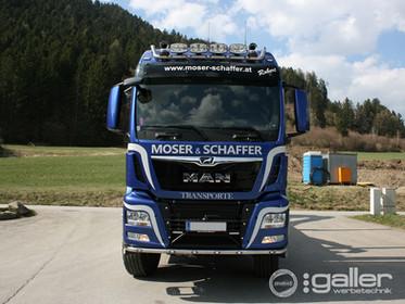 Fahrzeugfolierung  Moser & Schaffer