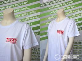 Textildruck T-Shirt Tilger