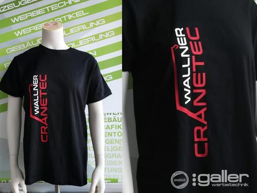 Textildruck T-Shirts Wallner Wolfgang