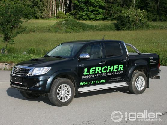 Fahrzeugfolierung Lercher