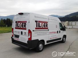 Fahrzeugfolierung Fliesentechnik Tilger