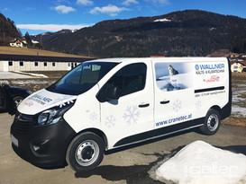 Fahrzeugfolierung Wallner Kälte & Klimatechnik