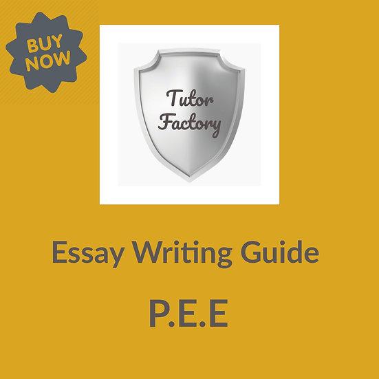 Essay Writitng Guide: P.E.E