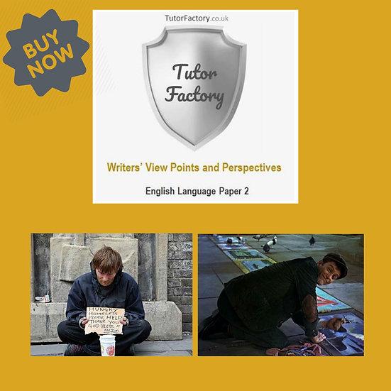 Begging in London - English Language Paper 2