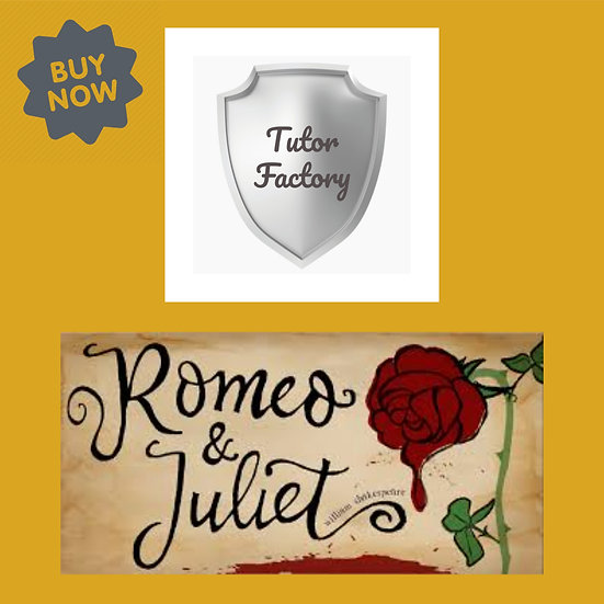 Shakespeare's Romeo and Juliet - Romeo as a passionate character