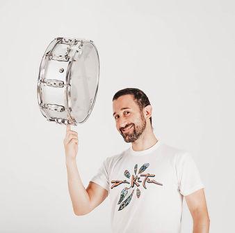Profesor de percusión, Rubens Monasterio