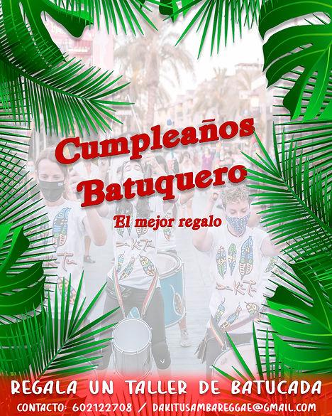 Cumpleaños batucada Murcia