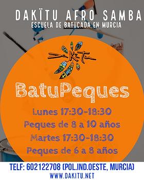 BatuPeques (Batucada para niñas y niños)