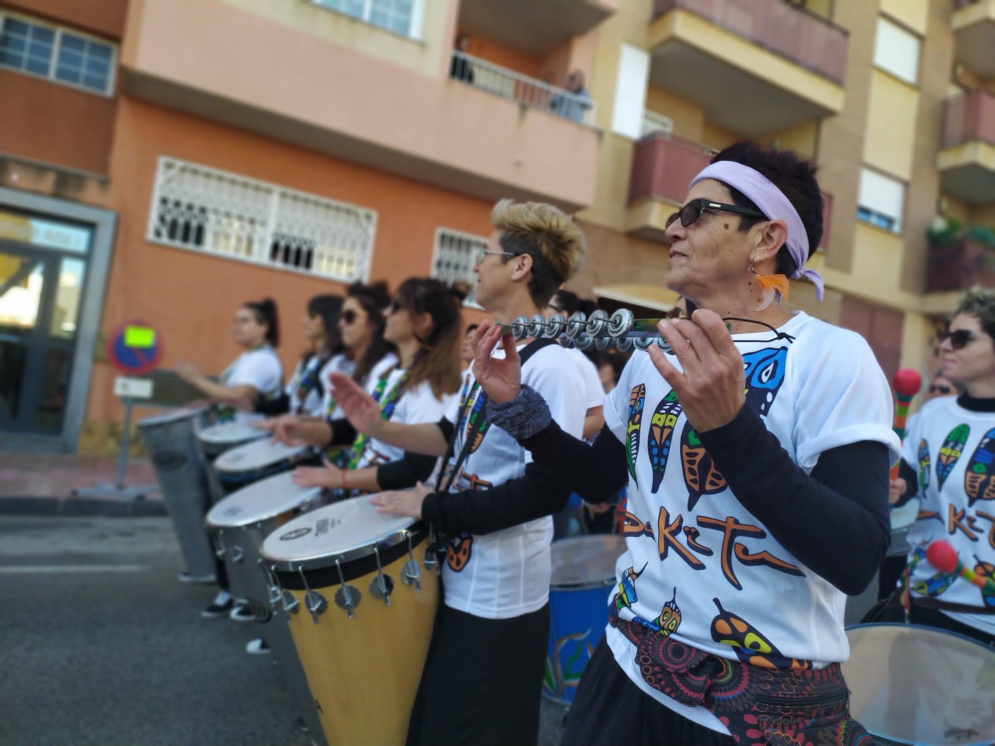 Batucada en Murcia