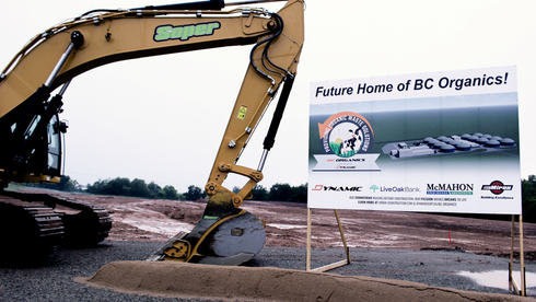 Anaerobic digestion facility breaks ground in Green Leaf, will be largest in U.S.
